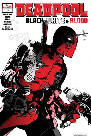 Deadpool: Black, White & Blood #3