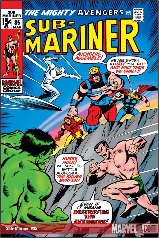 Sub-Mariner (1968) #35