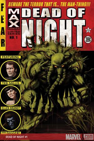 Dead of Night Featuring Man-Thing (2008) #1