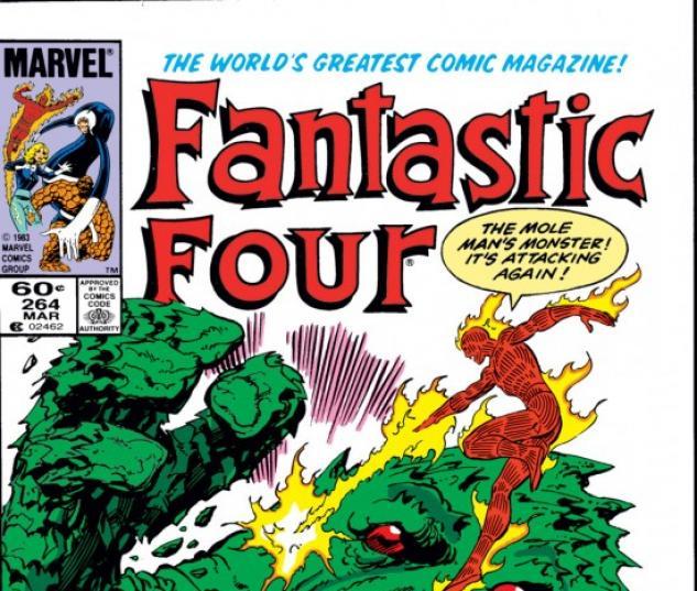 FANTASTIC FOUR #264