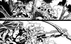 Assembling the Avengers: Black Widow & Hawkeye