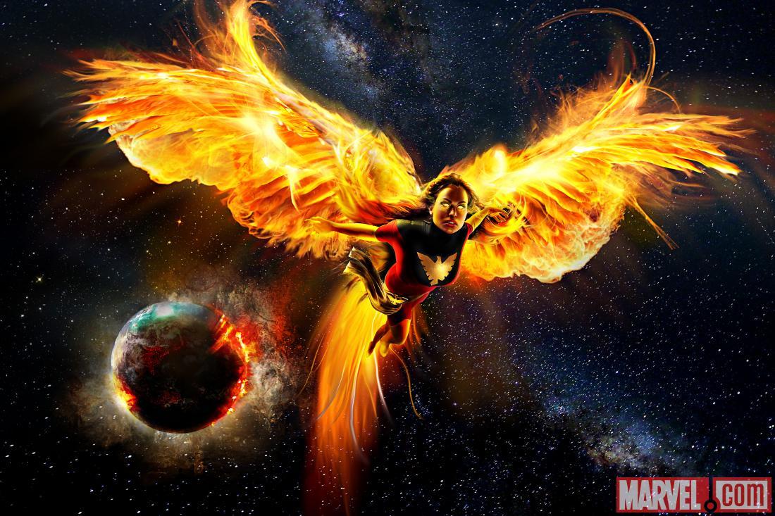 Dark Phoenix Logo She kinda reminds me of this
