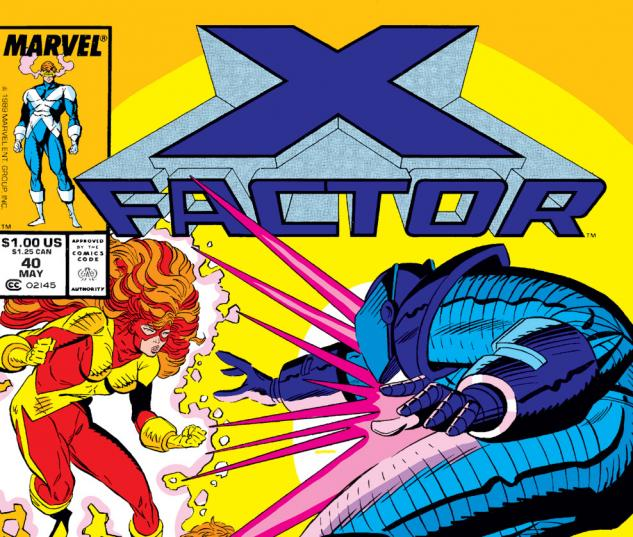 X-Factor (1986) #40 Cover