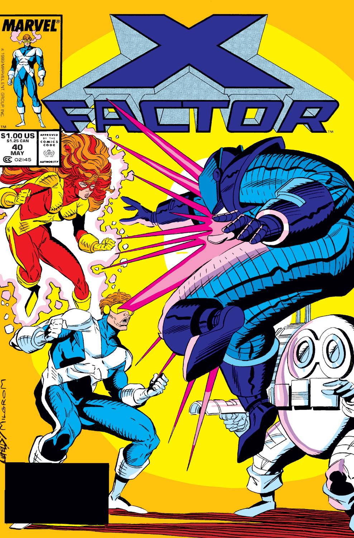 X-Factor (1986) #40
