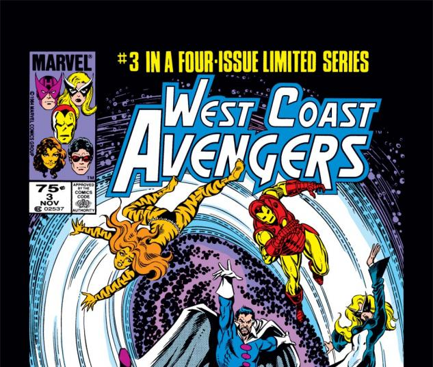West Coast Avengers (1984) #3 Cover