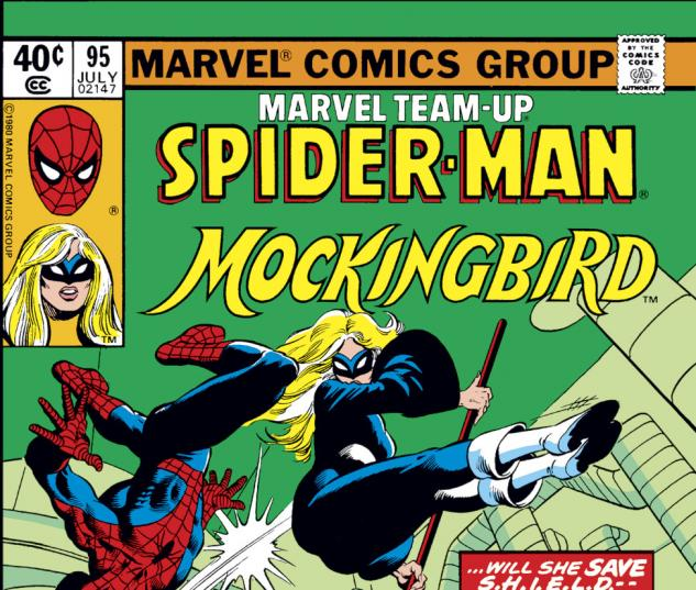 Marvel Team-Up (1972) #95 Cover