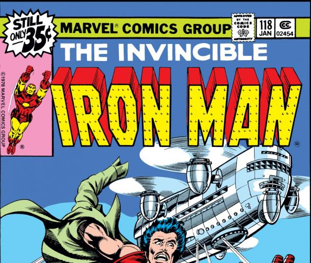 Iron Man (1968) #118 Cover