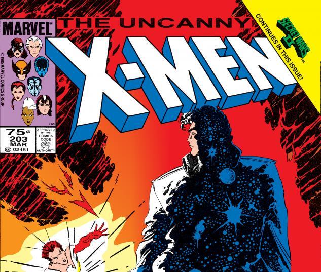 Uncanny X-Men (1963) #203 Cover