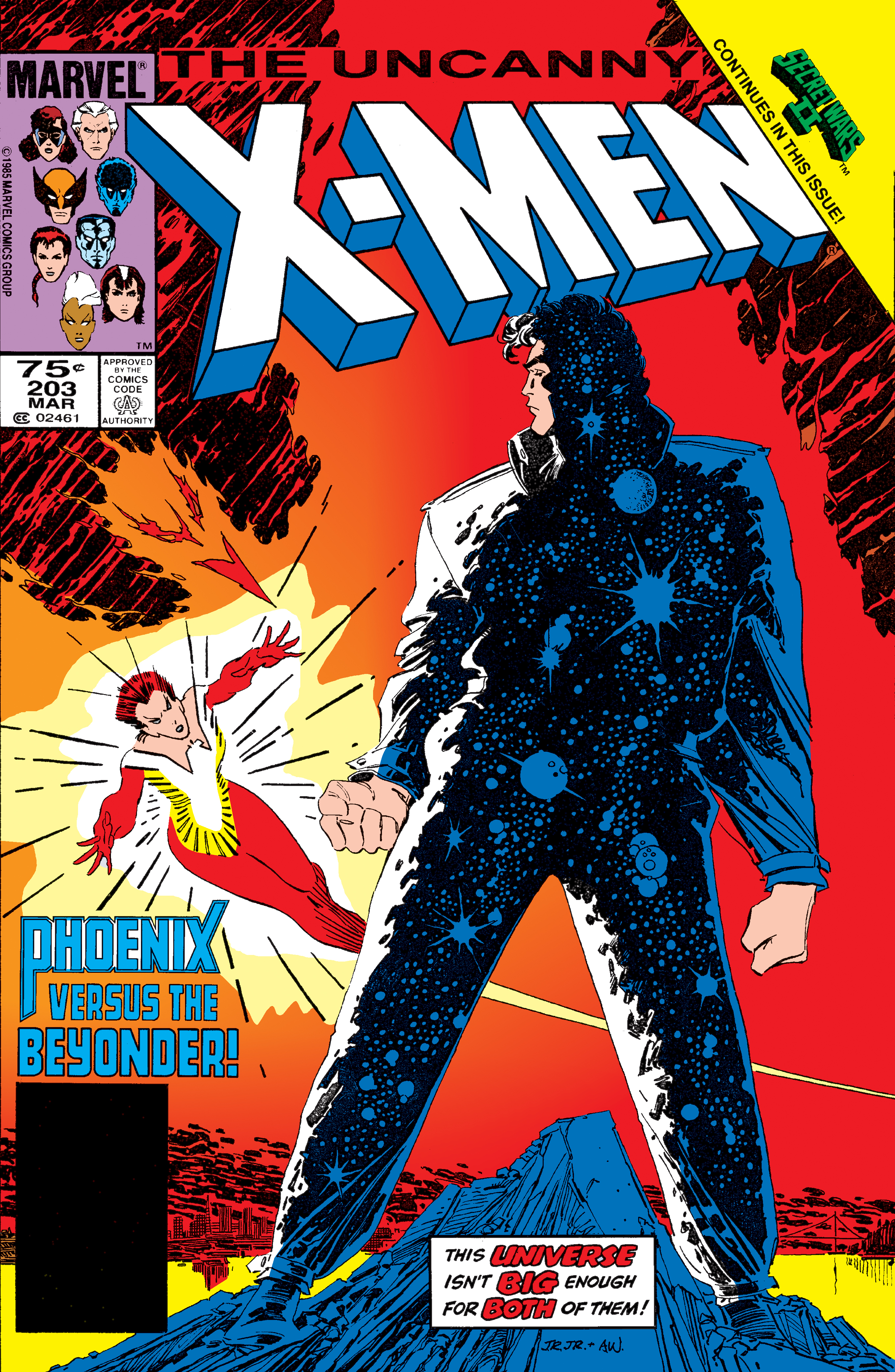 Uncanny X-Men (1963) #203