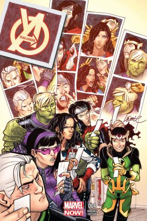 Young Avengers (2013) #4 (Lafuente Variant)