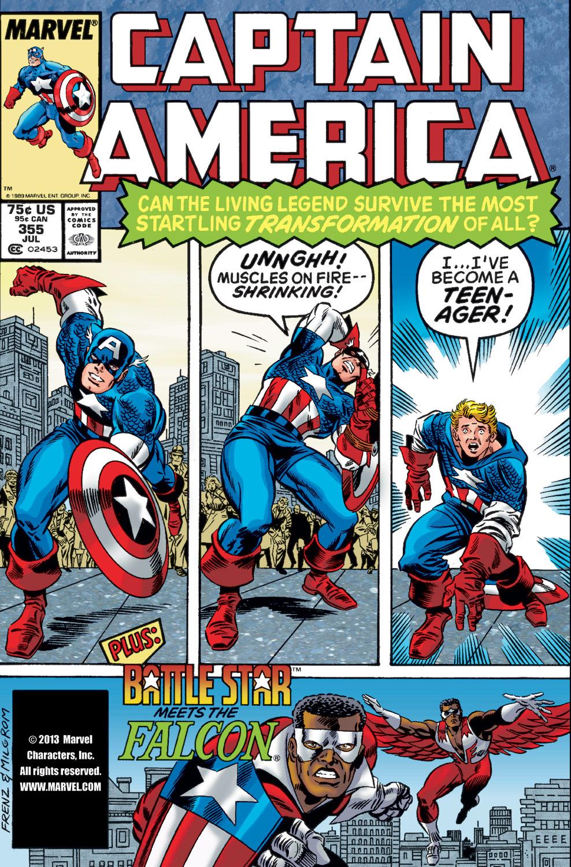 Captain America (1968) #355