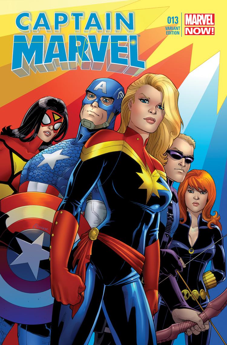 Captain Marvel (2012) #13