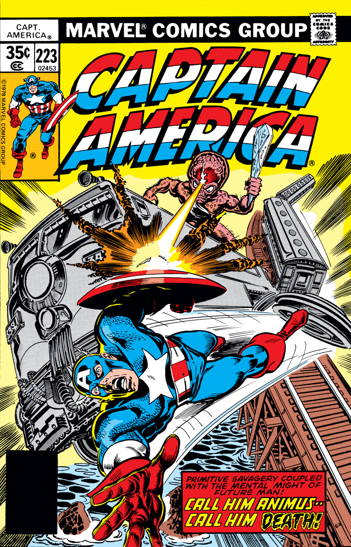 Captain America (1968) #223