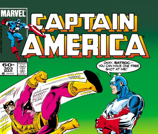 Captain America (1968) #303 Cover