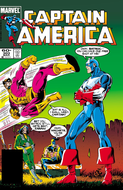 Captain America (1968) #303