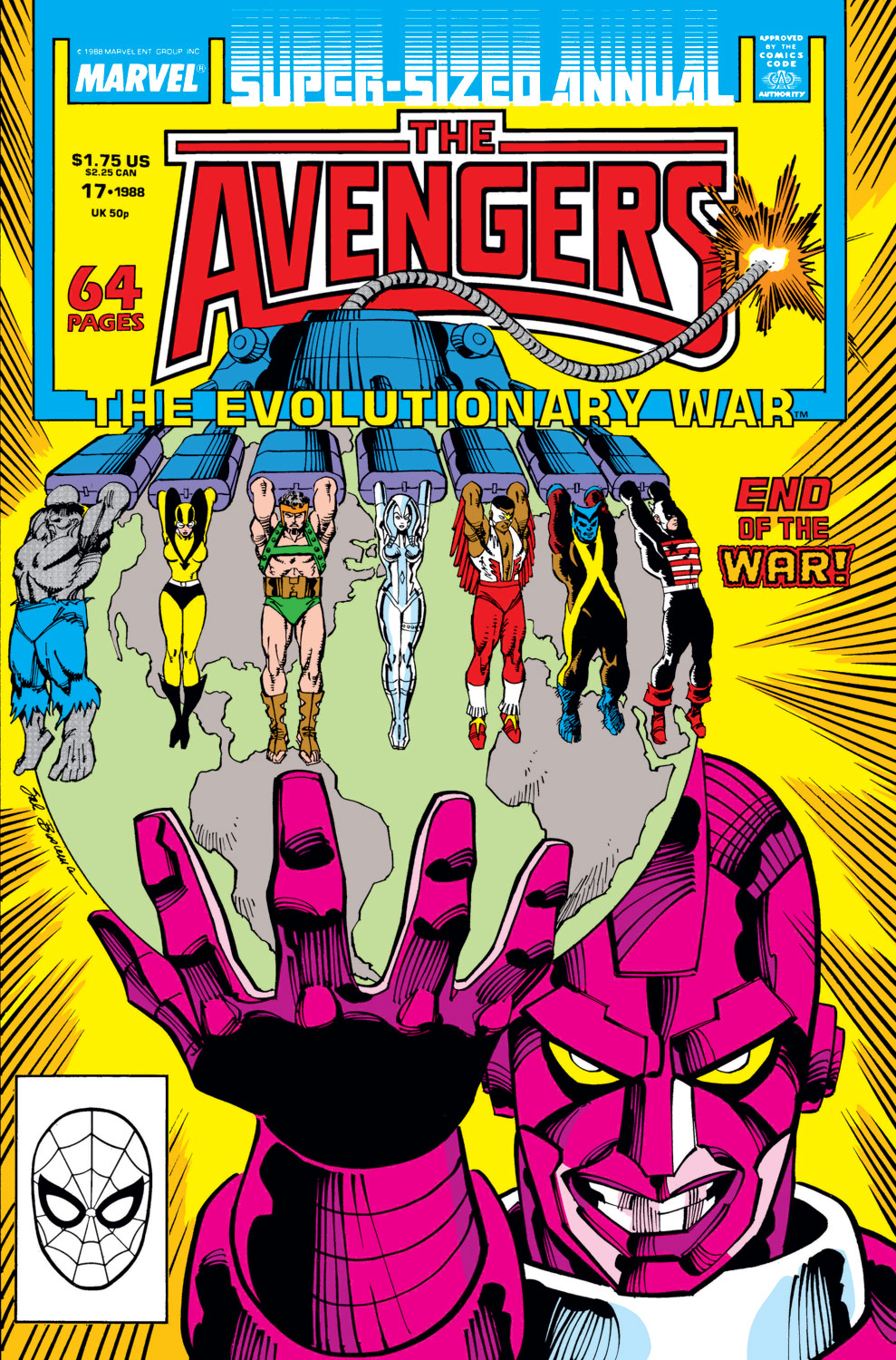 Avengers Annual (1967) #17