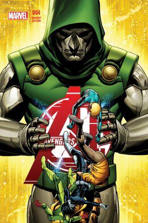 Avengers A.I. (2013) #4 (Mckone Variant)