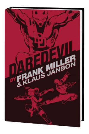 DAREDEVIL BY FRANK MILLER & KLAUS JANSON OMNIBUS HC (NEW PRINTING) (Hardcover)