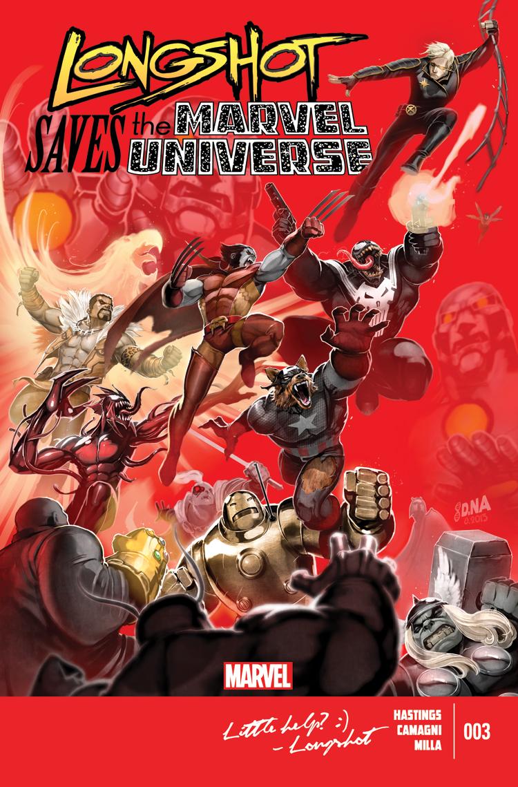 Longshot Saves the Marvel Universe (2013) #3