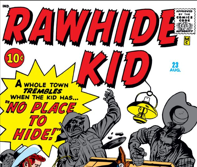 Rawhide Kid (1960) #23 Cover