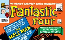 Fantastic Four (1961) #22 Cover