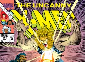 Uncanny X-Men (1963) #311 Cover
