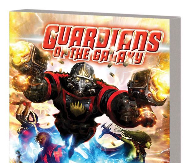 GUARDIANS OF THE GALAXY BY ABNETT & LANNING: THE COMPLETE COLLECTION VOL. 1 TPB