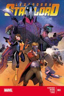 Legendary Star-Lord (2014) #3