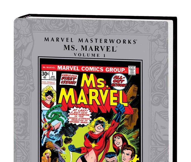 MARVEL MASTERWORKS: MS. MARVEL VOL. 1 HC
