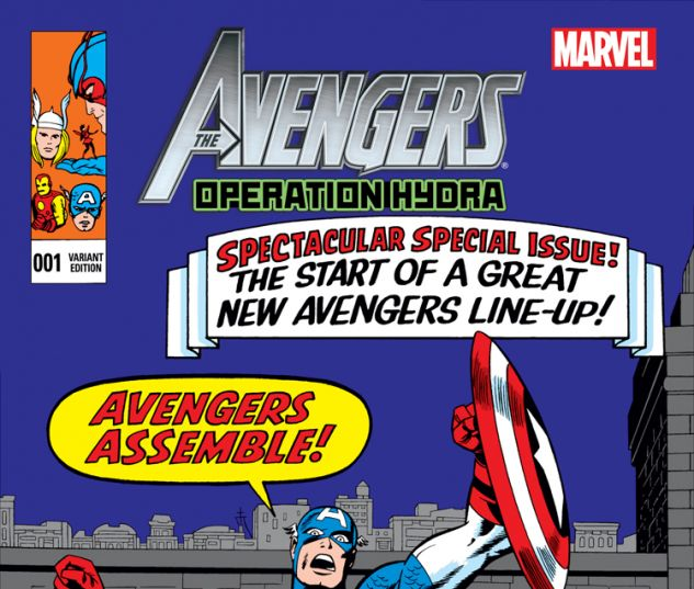 AVENGERS: OPERATION HYDRA 1 KIRBY CLASSIC VARIANT (WITH DIGITAL CODE, DNMC)