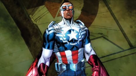 Marvel AR: All-New Captain America #1 Cover Reca