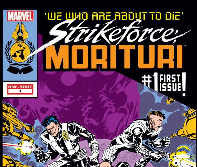 STRIKEFORCE: MORITURI - WE WHO ARE ABOUT TO DIE (2011) #1 Cover