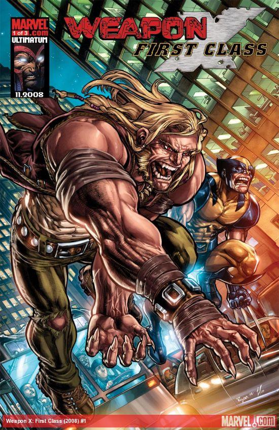 Weapon X: First Class (2008) #1