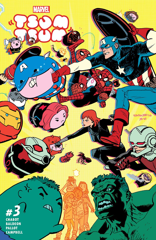 Marvel Tsum Tsum (2016) #3