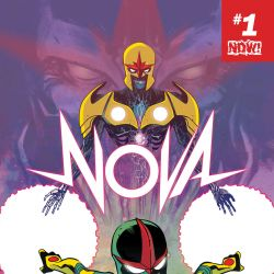Nova #1 cover by Ramon Perez