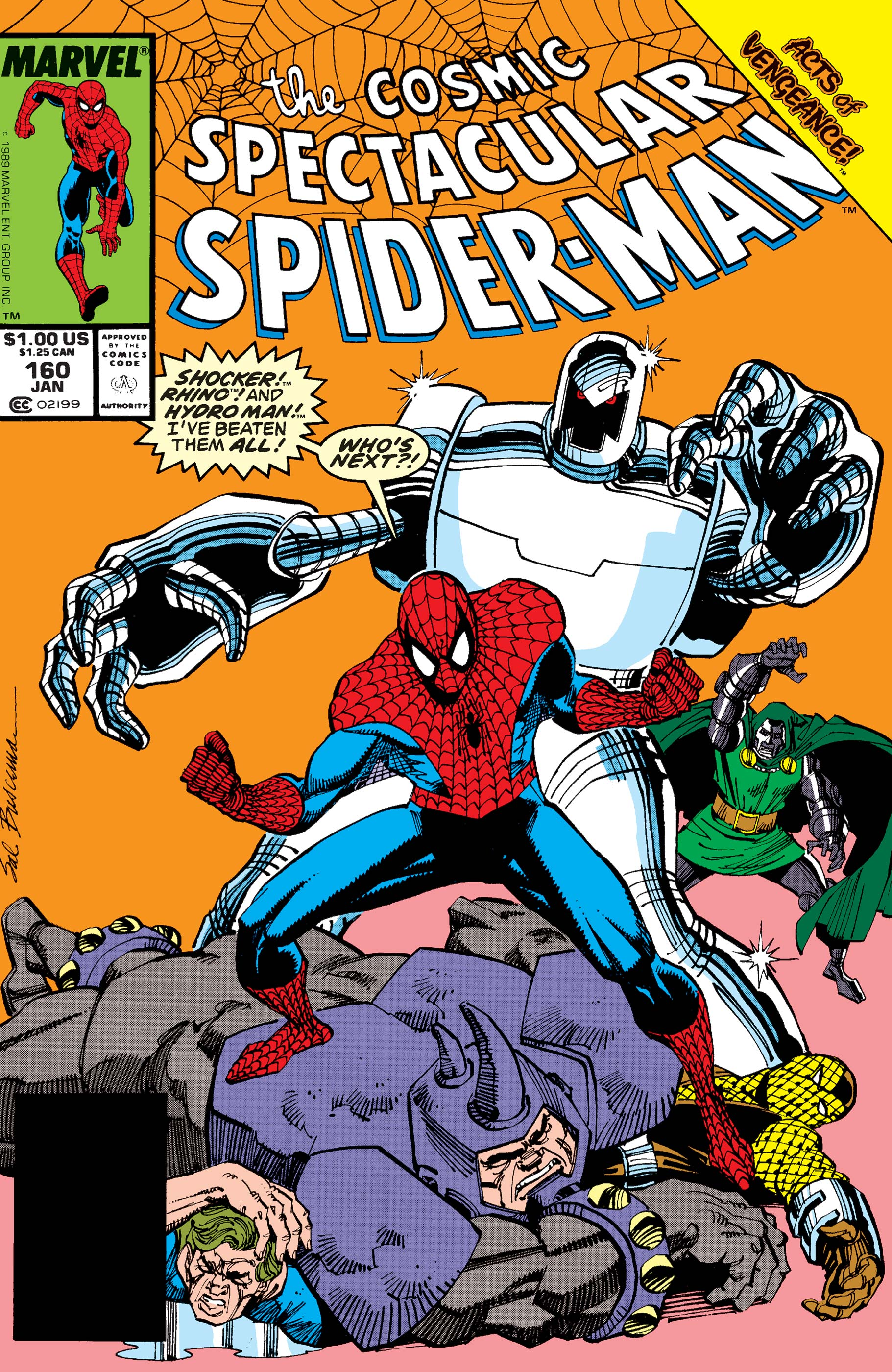 Peter Parker, the Spectacular Spider-Man (1976) #160