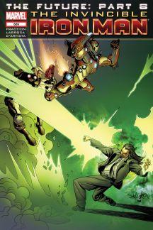 Invincible Iron Man (2008) #526
