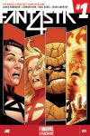 cover from Fantastic Four (2014) #1