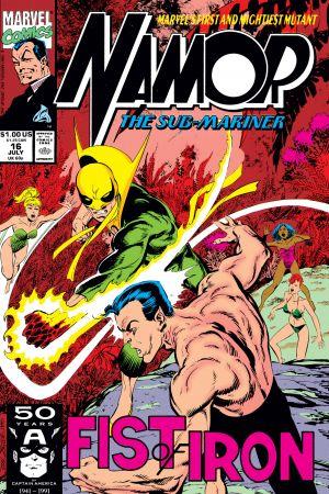 Namor: The Sub-Mariner (1990) #16