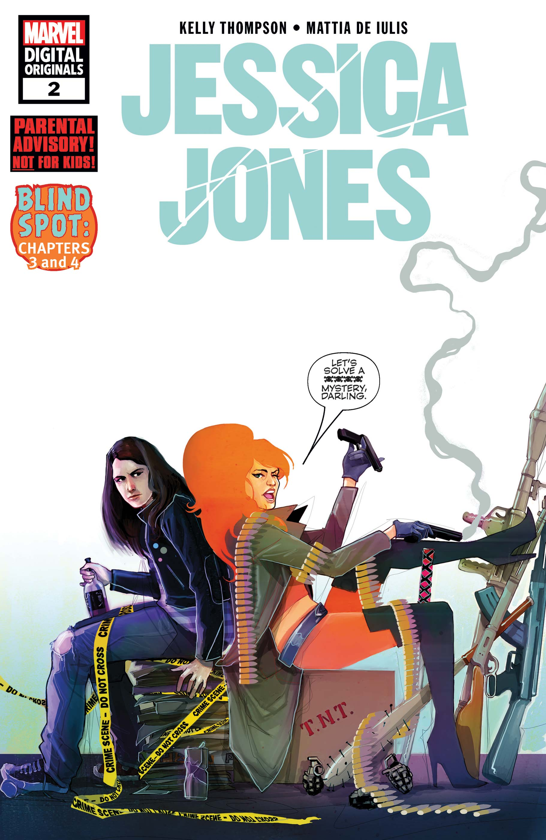 Jessica Jones - Marvel Digital Original (2018) #2