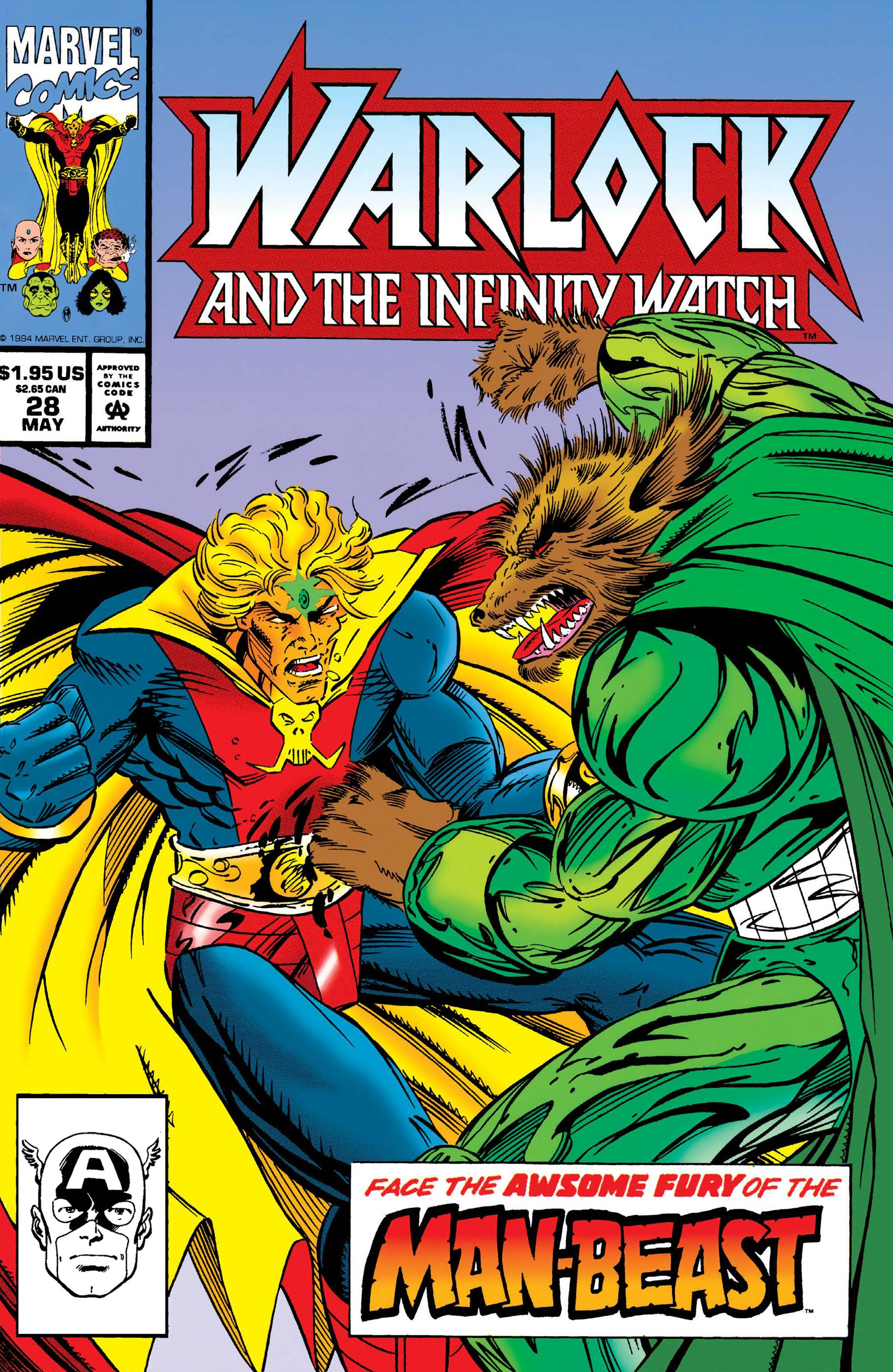 Warlock and the Infinity Watch (1992) #28