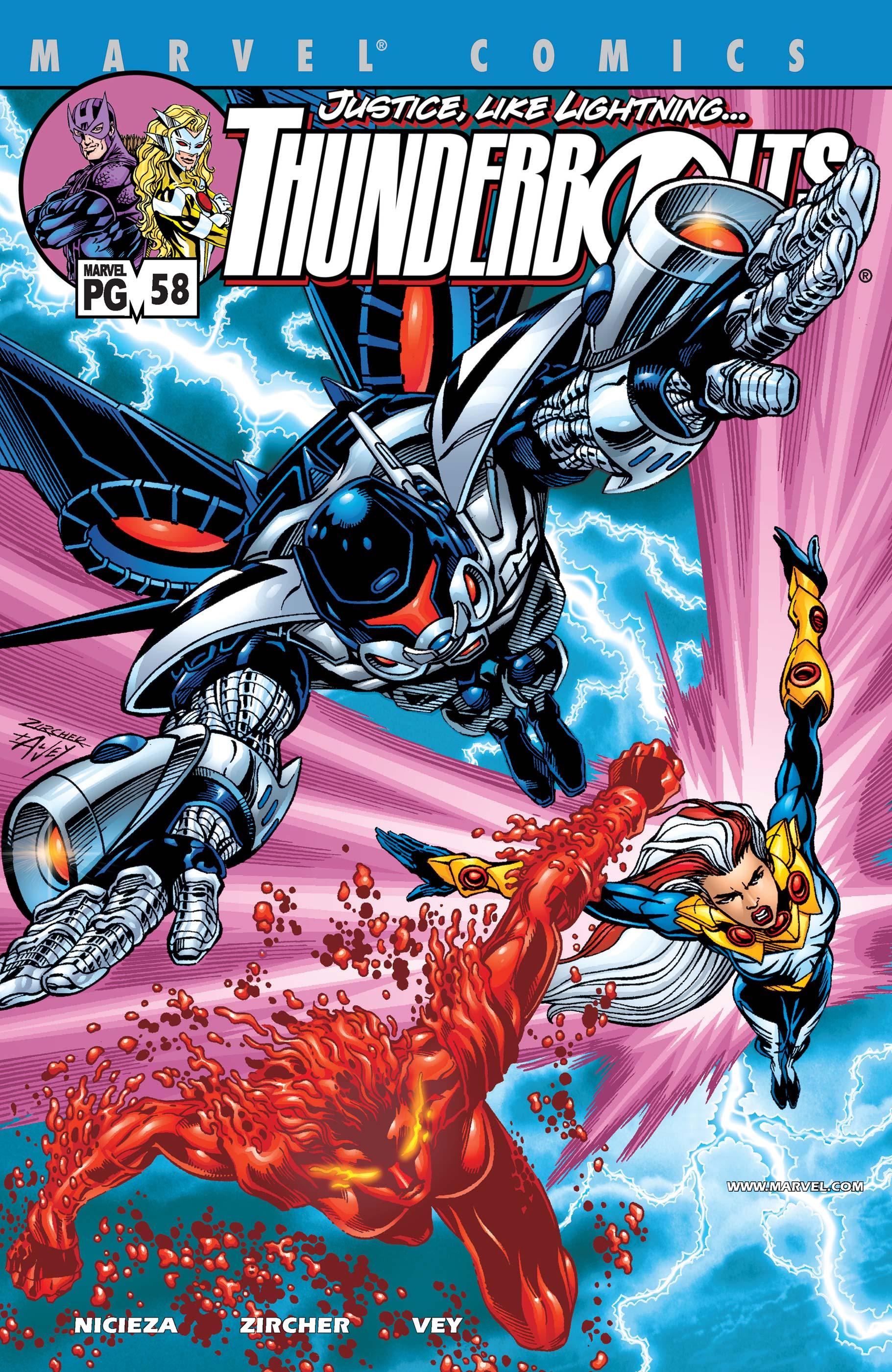 Thunderbolts (1997) #58