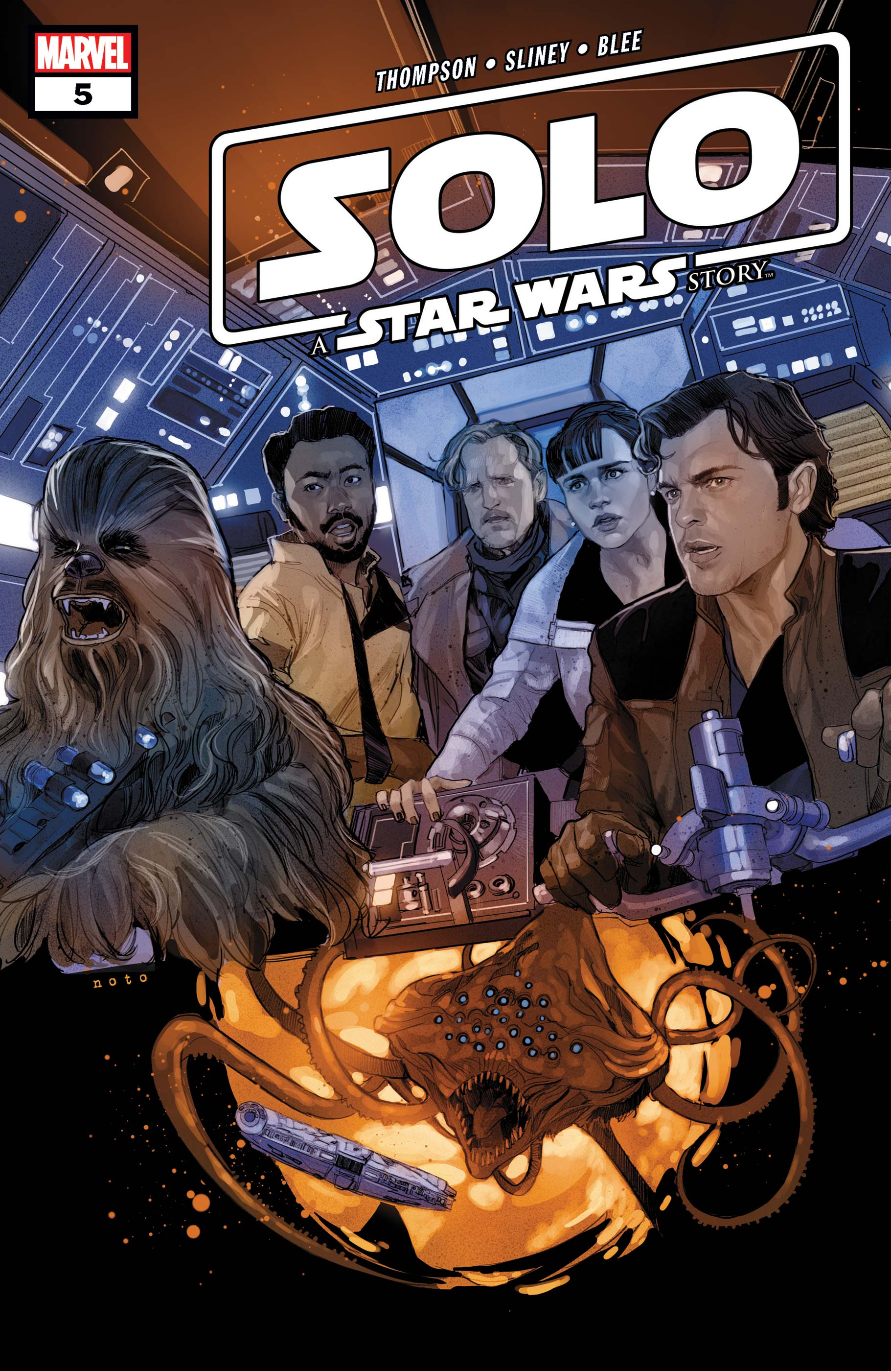 Solo: A Star Wars Story Adaptation (2018) #5