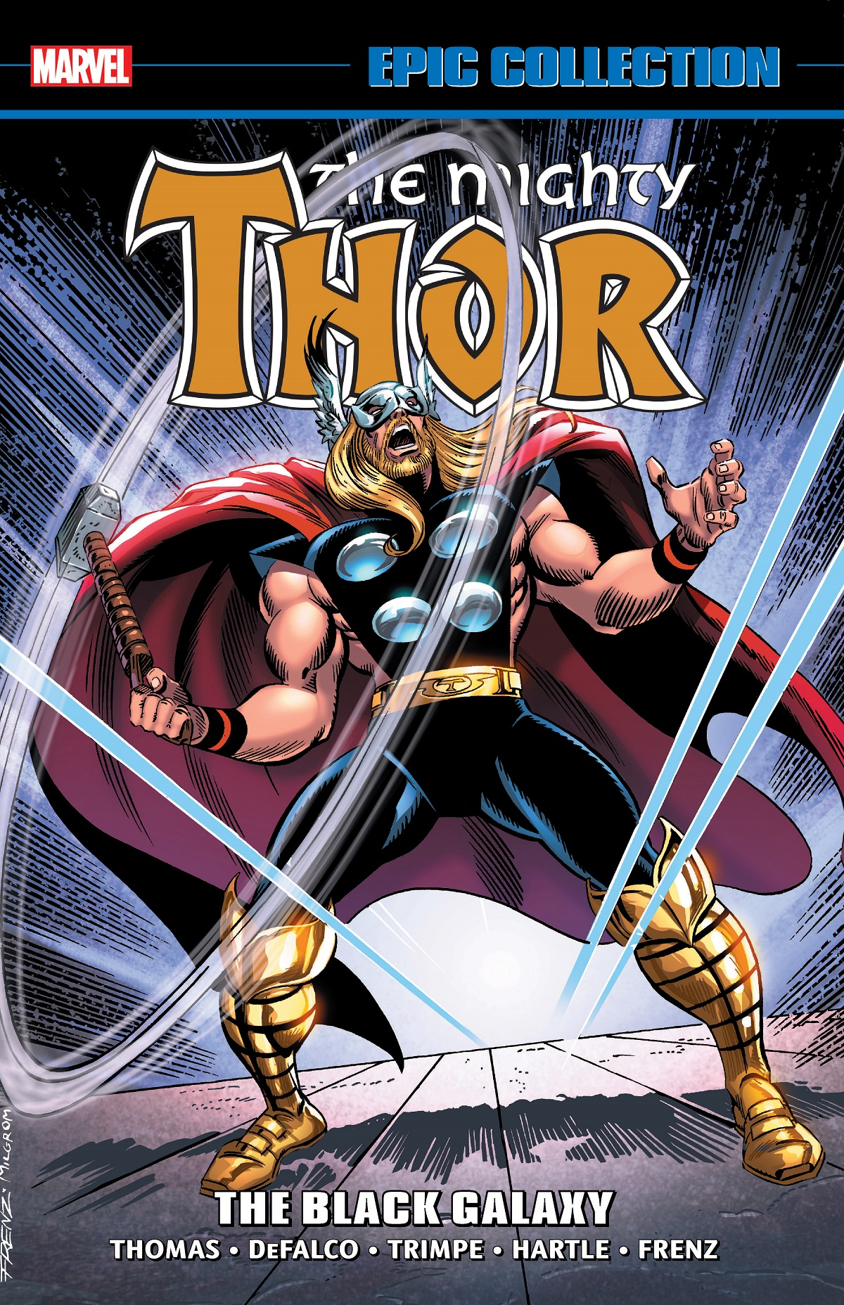 Thor Epic Collection: The Black Galaxy (Trade Paperback)