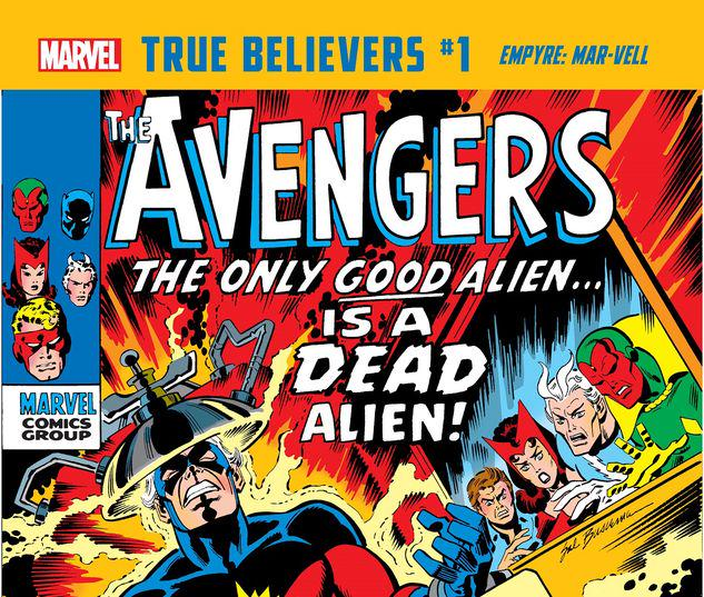 TRUE BELIEVERS: EMPYRE - MAR-VELL 1 #1