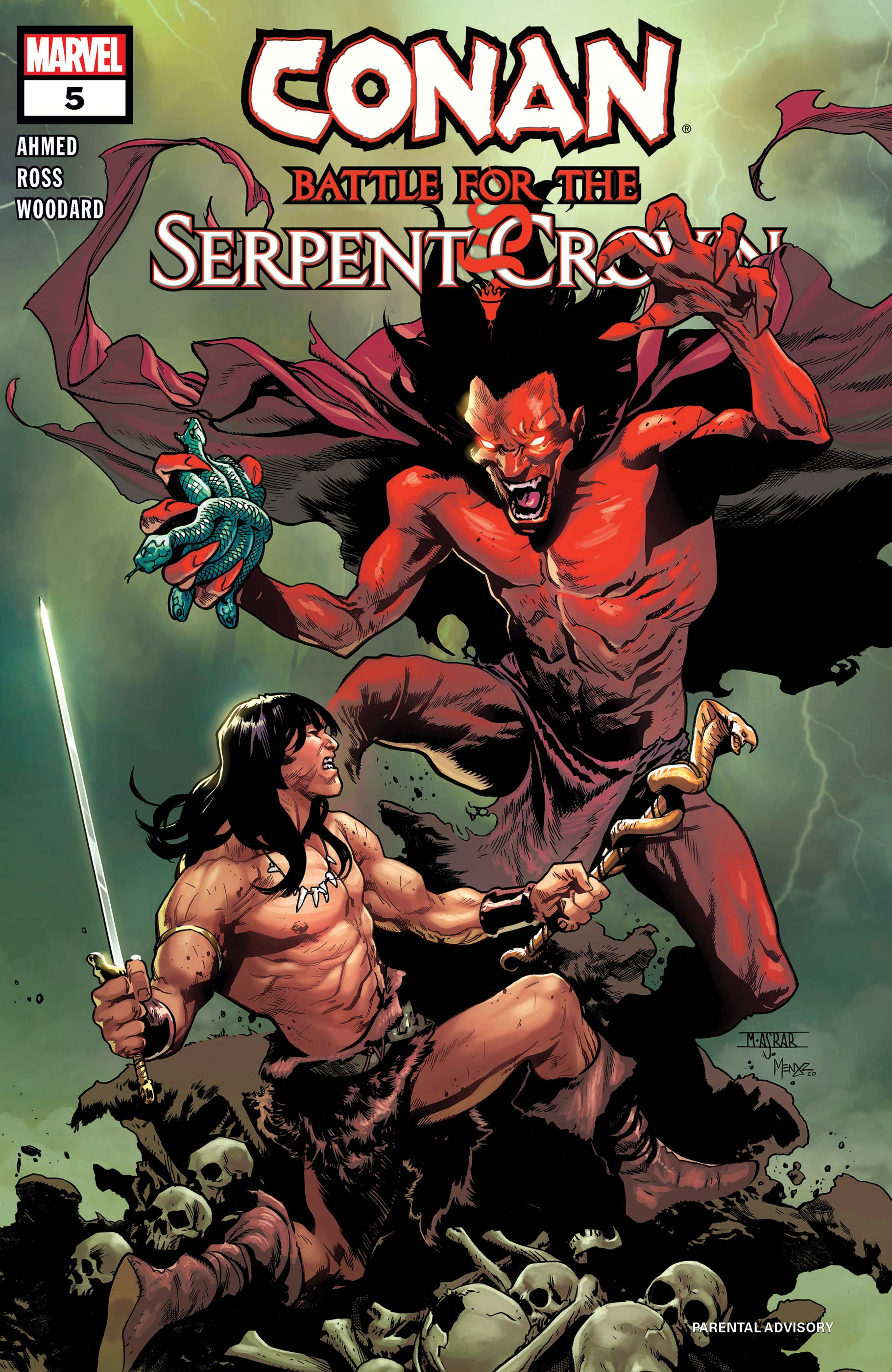 Conan: Battle for the Serpent Crown (2020) #5