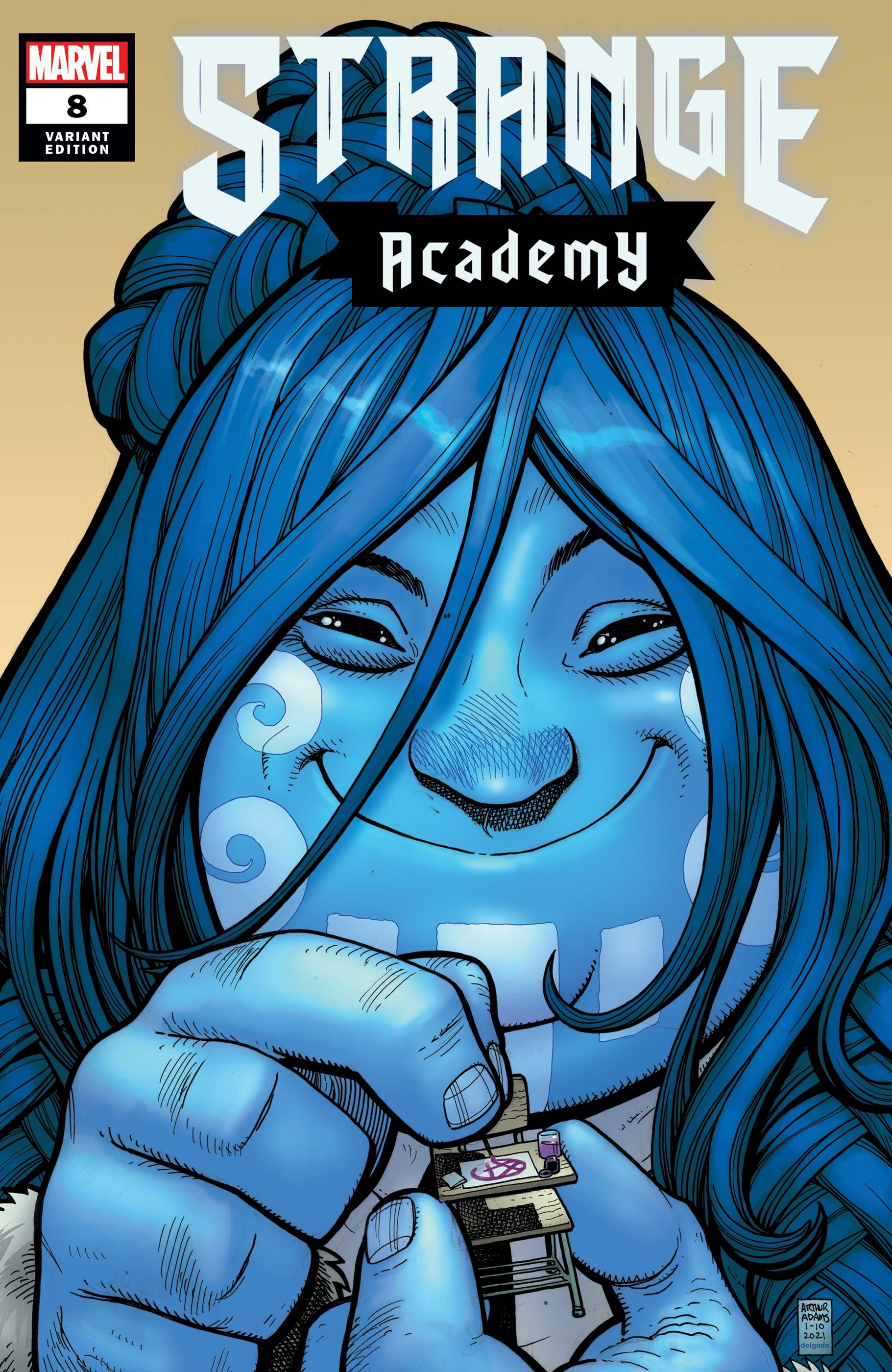 Strange Academy (2020) #8 (Variant)