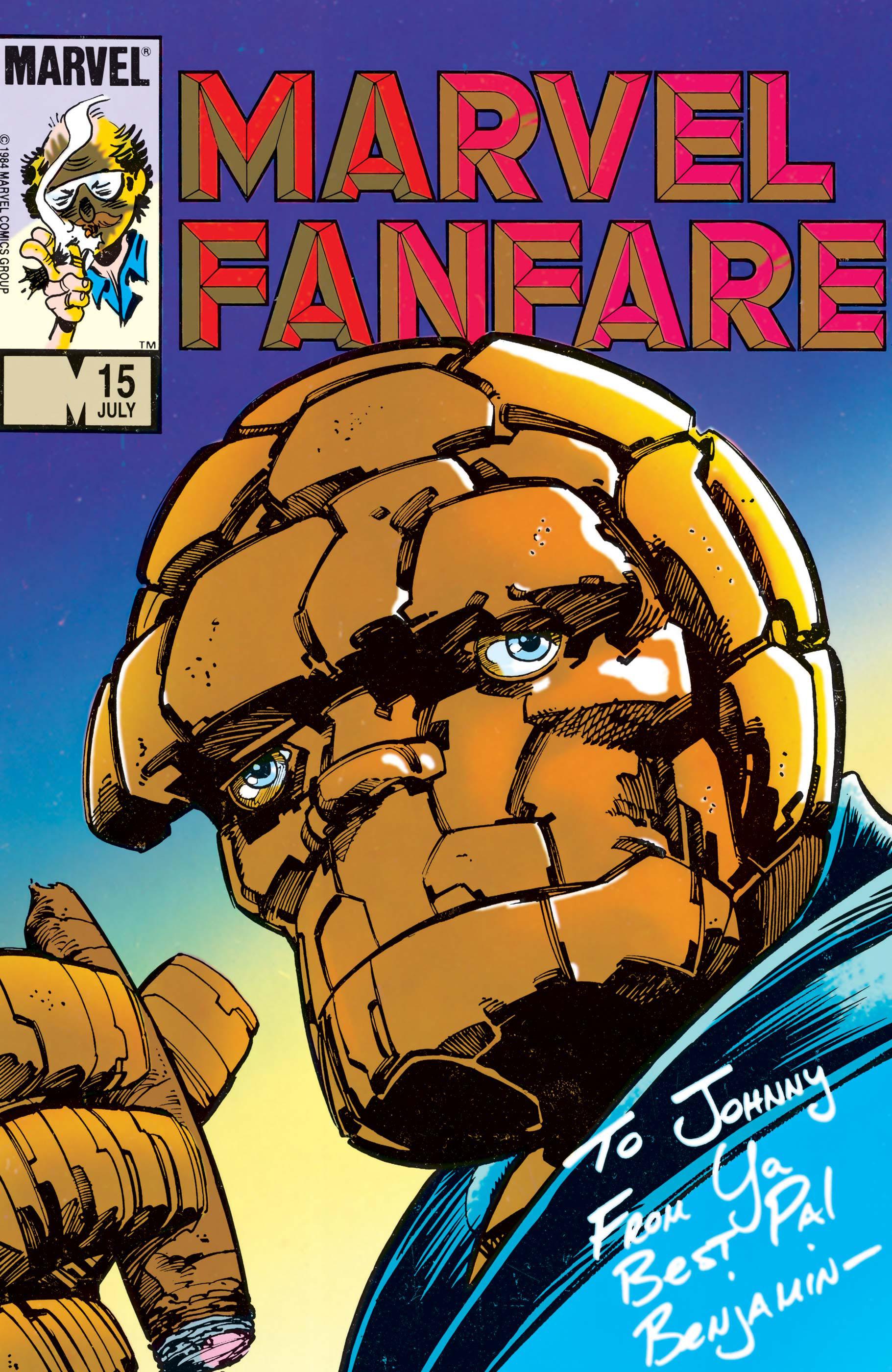 Marvel Fanfare (1982) #15