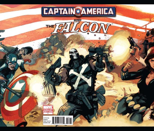CAPTAIN AMERICA AND FALCON #1 GATEFOLD VARIANT