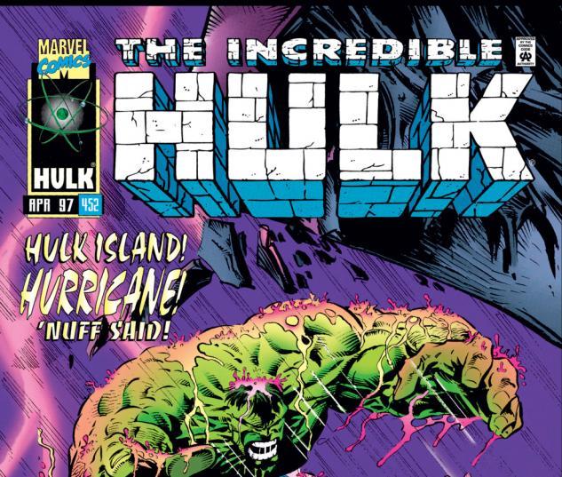 Incredible Hulk (1962) #452 Cover
